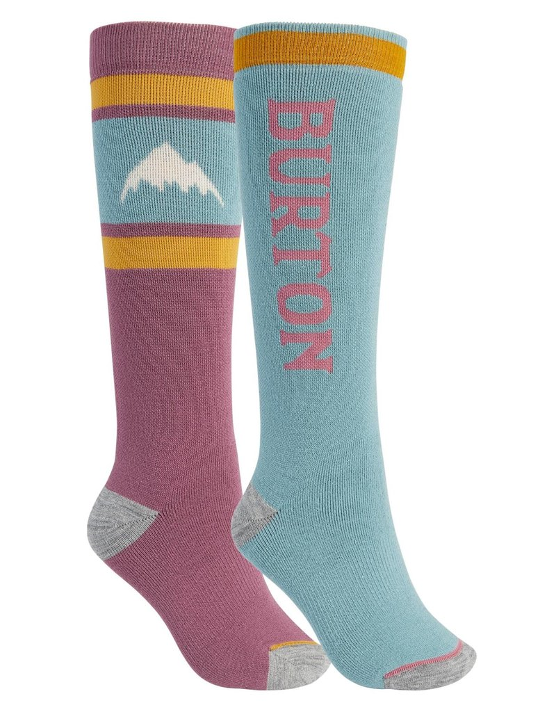 BURTON BURTON Weekend Midweight Sock 2-Pack Rose Brown/Trellis