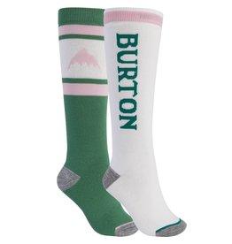 BURTON BURTON Weekend Midweight Sock 2-Pack Frosty Spruce/Stout White