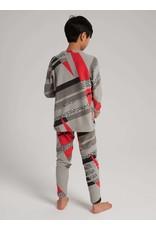 BURTON BURTON Kids' Fleece Base Layer Set Bold Throwback
