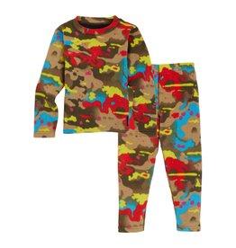 BURTON BURTON Toddlers' Fleece Base Layer Set Bright Birch Camo