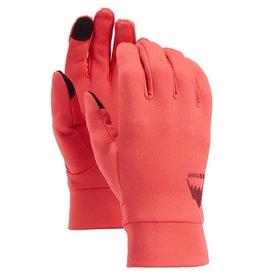 BURTON BURTON Screen Grab Glove Liner Hibiscus Pink
