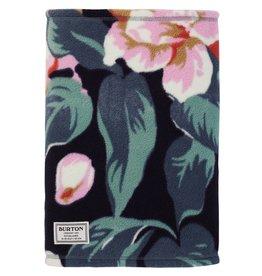BURTON BURTON Ember Fleece Neck Warmer Dark Slate Oversized Floral