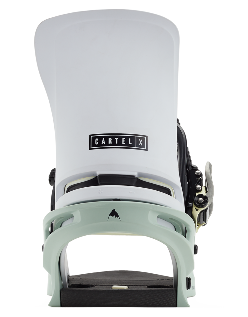 BURTON BURTON Cartel X Re:Flex Snowboard Binding Neo-Mint/White