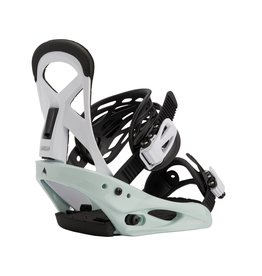 BURTON BURTON Kids' Smalls Re:Flex Snowboard Binding Neo-Mint/White
