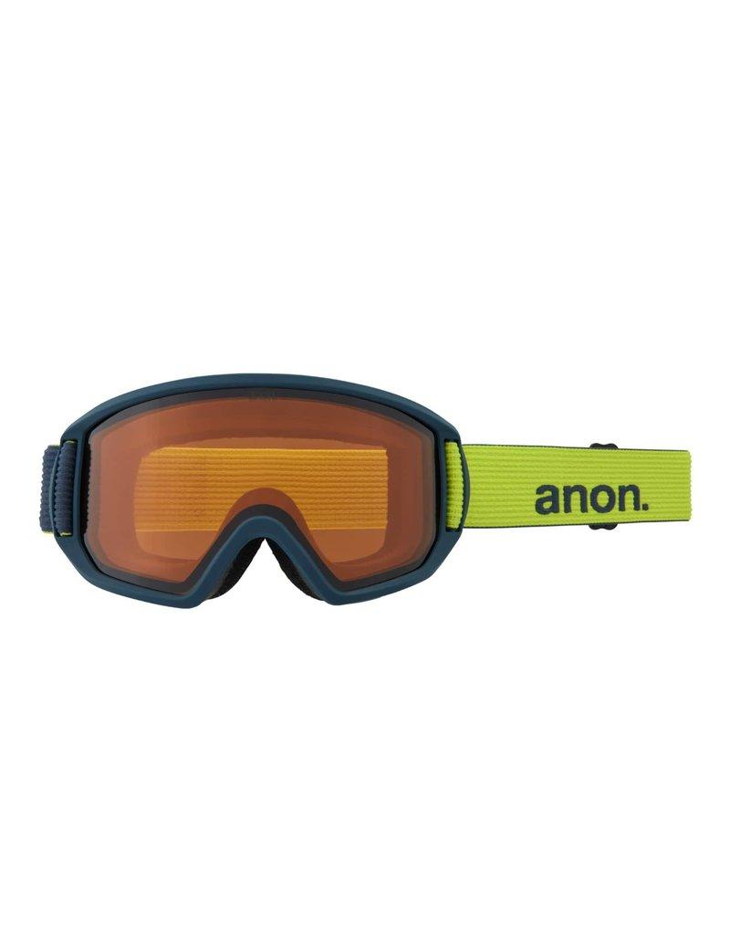 ANON ANON Relapse Goggles + Bonus Lens Blue Split / Perceive Variable Green