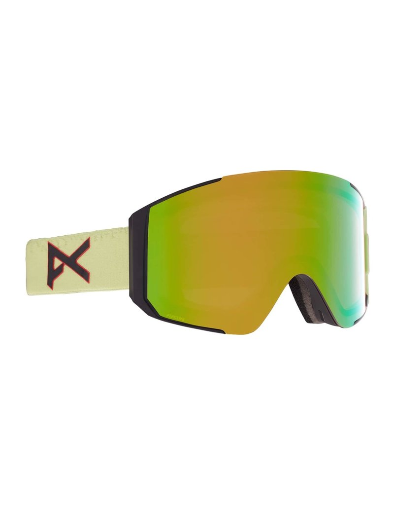 ANON ANON Sync Goggles + Bonus Lens Crazy Eyes Green / Perceive Variable Green