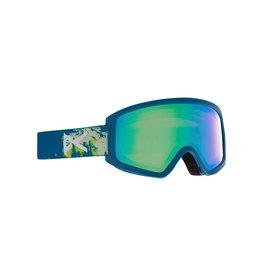 ANON ANON Tracker 2.0 Goggle Blue Mtn / Green Amber