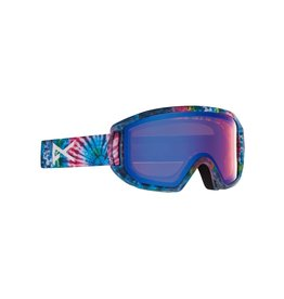 ANON ANON Relapse Jr. Goggles + MFI Face Mask Tie Dye / Blue Amber