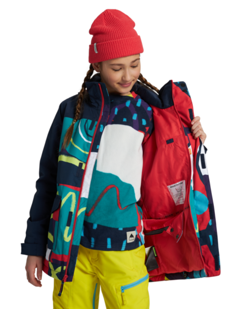 BURTON BURTON Elstar Parka Jacket Graphic Mix