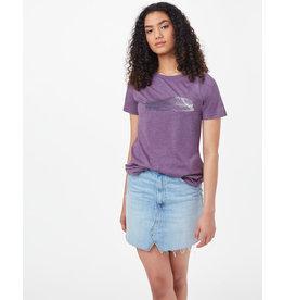 TENTREE TENTREE Featherwave Raglan T-Shirt Vintage Violet Heather
