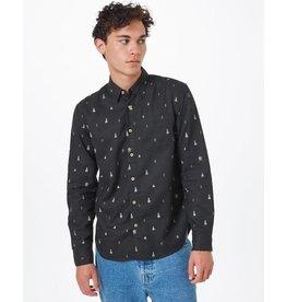 TENTREE TENTREE Sasquatch Mancos Longsleeve Shirt Meteorite Black Sasquatch Print