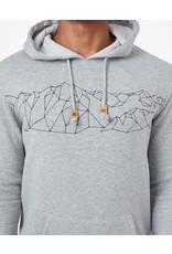 TENTREE TENTREE Men's Geo Mountain Classic Hoodie Hi Rise Grey Heather