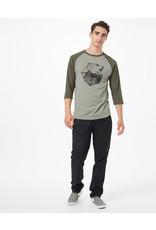TENTREE TENTREE Men's Balance Planter Shirt Vetiver Green Heather/Olive Night Green Heather