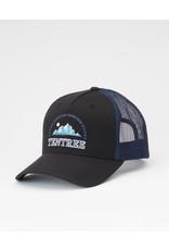 TENTREE TENTREE Embroidery Altitude Hat Meteorite Black