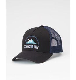 TENTREE TENTREE Embroidery Altitude Hat Meteorite Black