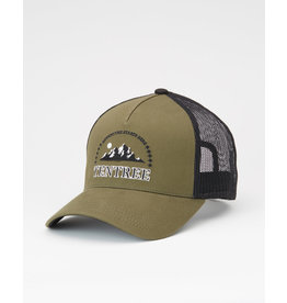 TENTREE TENTREE Embroidery Altitude Hat Olive Night Green