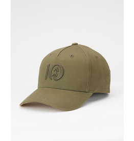 TENTREE TENTREE Logo Cork BriAltitude Hat Olive Night Green