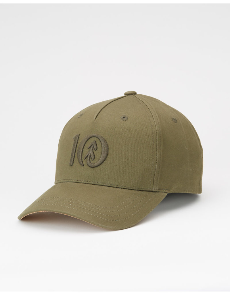 TENTREE TENTREE Logo Cork BriAltitude Hat Olive Night Green