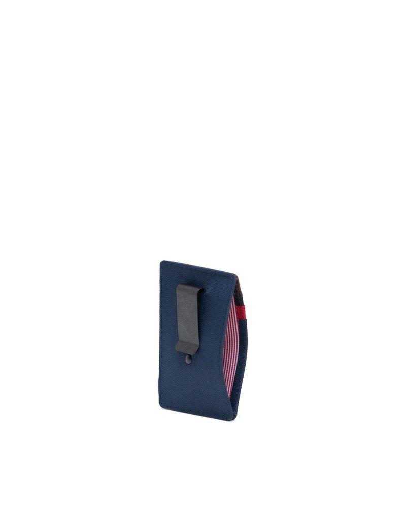 HERSCHEL HERSCHEL Raven RFID Navy/Red/Woodland Camo