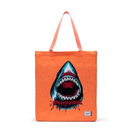 HERSCHEL HERSCHEL Long Tote SW Shark/Orange