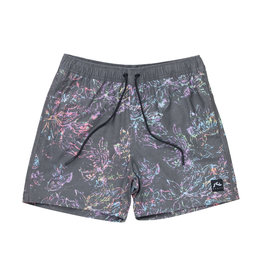 RUSTY RUSTY Reef Chain Elastic Boardshort Black