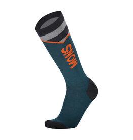 MONS ROYALE MONS ROYALE Lift Access Sock Atlantic / Orange Smash
