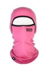 MONS ROYALE Santa Rosa 2.0 Hinge Balaclava Pink