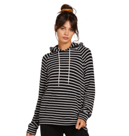 VOLCOM VOLCOM Lived In Lounge Hoodie Black White
