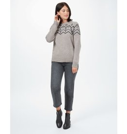 TENTREE TENTREE Highline Wool Intarsia Sweater Desert Taupe Heather