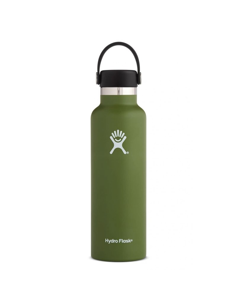 HYDRO FLASK HYDRO FLASK 21 oz (621 ml) Standard Mouth Olive