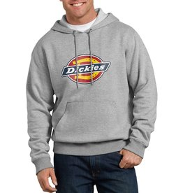 DICKIES DICKIES Relaxed Fit Logo Fleece Pullover Hoodie Heather Gray
