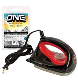 ONEBALL ONE BALL Iron with 65g All Temp Wax Bar