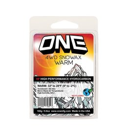 ONEBALL ONE BALL 4WD Snowax WARM Wax, 165g