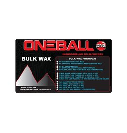 ONEBALL ONE BALL Bulk F-1 White All Temp Wax - 750g