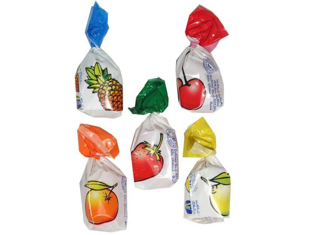 Peters Wrapped assorted fruit bonbons - candy 8 Oz