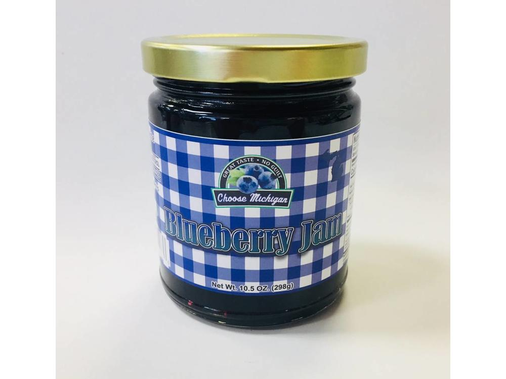Choose Michigan Blueberry Jam 10.5 oz jar