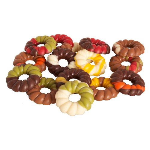 Chocolate Wreathes Assorted 6 oz