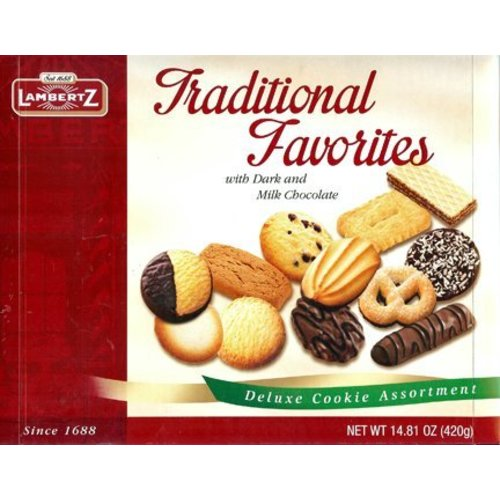Lambertz Lambertz Traditional Assorted Favorites Cookie 14.8 Oz Box