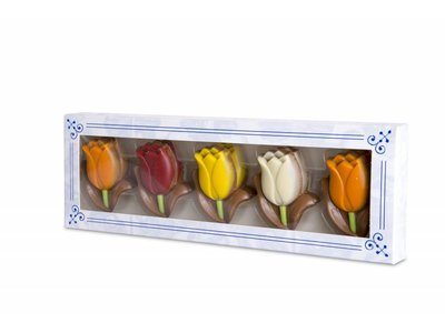 Martinez Milk Chocolate Tulips 5.2 Oz box