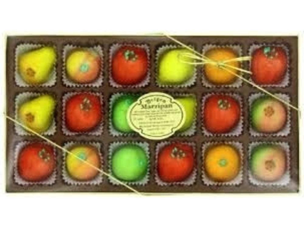 Bergen Marzipan Fruits Gift Box [18 pc] 8oz 24/cs