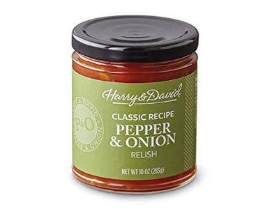 Harry and David Pepper & Onion Relish jar