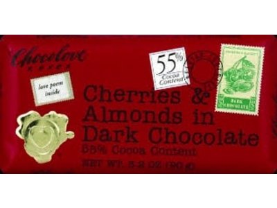 Chocolove Chocolove Cherry Almond Dark 3 oz Bar