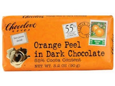 Chocolove Chocolove Orange Peel Dark 55% 3.2 oz
