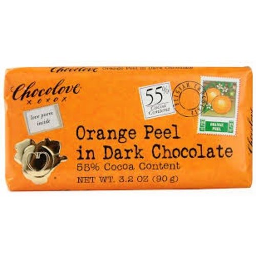 Chocolove Chocolove Orange Peel Dark 55%