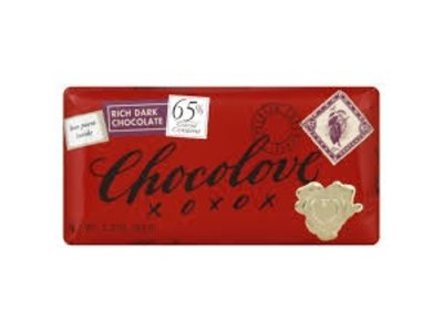 Chocolove Chocolove Rich Dark Choc Bar 65%