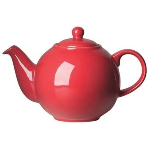 Teapot Red 6 cup