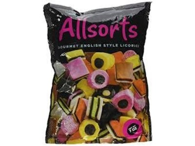 Gustafs Gustafs Licorice Allsorts 7 Oz Stand Up Bag