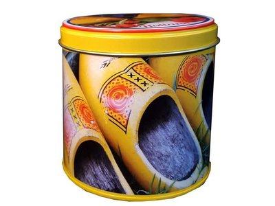 KM Woodenshoe Design Stroopwafel Tin 8.8 oz