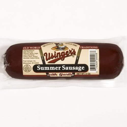 Usinger Usinger Beef Salami Garlic 8 oz