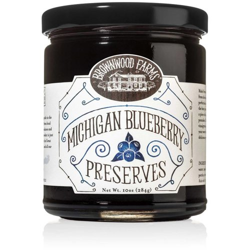 Brownwood Farm Brownwood Blueberry Preserve 10 oz jar